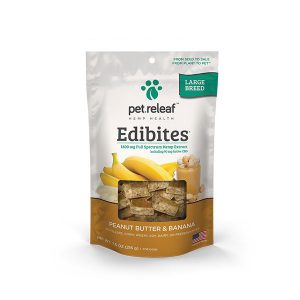 Pet Releaf Edibites Butter Banana